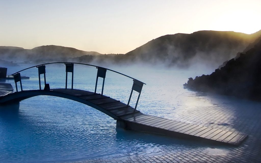 Traveling to Blue Lagoon (Iceland)